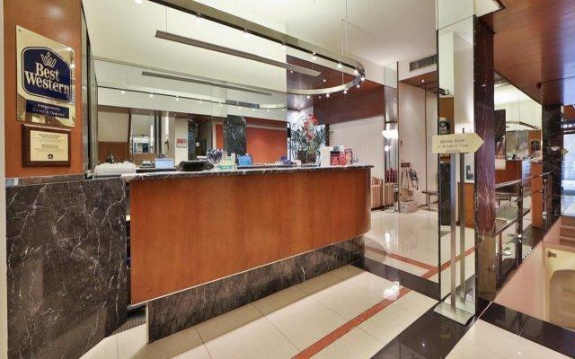 Отель Best Western Hotel City Италия, Милан - 1 отзыв об отеле, цены и фото номеров - забронировать отель Best Western Hotel City онлайн интерьер отеля