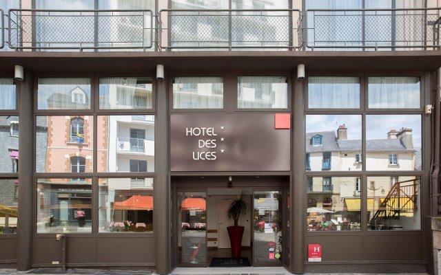 Hotel Des Lices вид на фасад