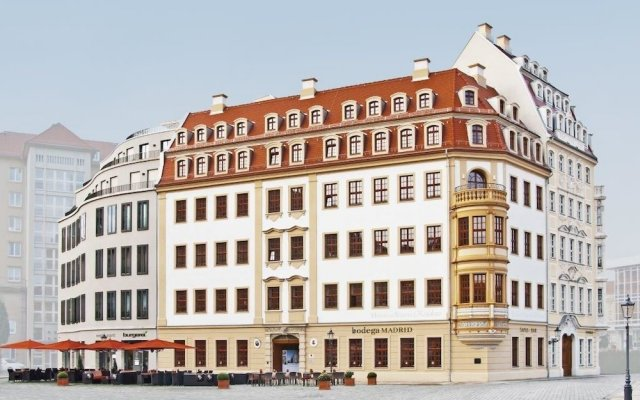 Отель Heinrich Schütz Residenz Германия, Дрезден - отзывы, цены и фото номеров - забронировать отель Heinrich Schütz Residenz онлайн вид на фасад