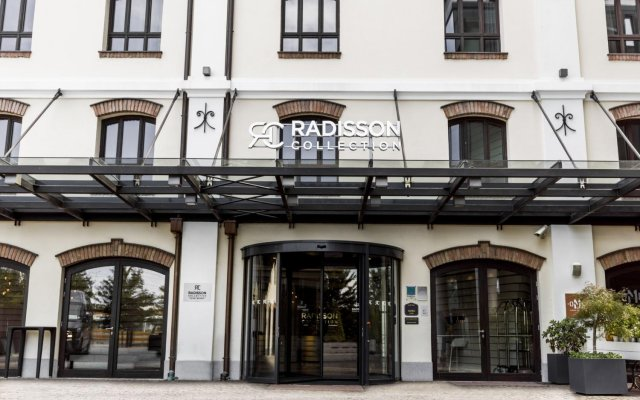 Radisson Collection Hotel, Old Mill Belgrade вид на фасад