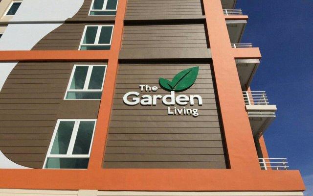 Отель The Garden Living вид на фасад