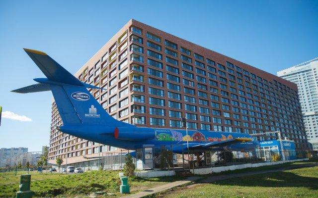 Гостиница Apart-Hotel Ekoliner в Москве отзывы, цены и фото номеров - забронировать гостиницу Apart-Hotel Ekoliner онлайн Москва вид на фасад