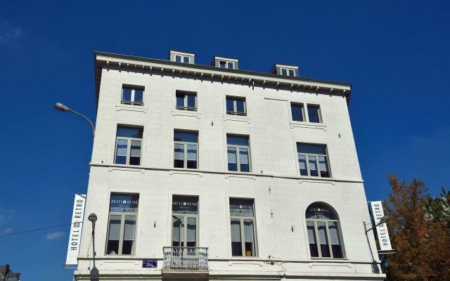 Отель Retro Бельгия, Брюссель - 3 отзыва об отеле, цены и фото номеров - забронировать отель Retro онлайн вид на фасад