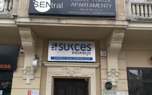 Отель Sentral Apartments Польша, Катовице - отзывы, цены и фото номеров - забронировать отель Sentral Apartments онлайн вид на фасад