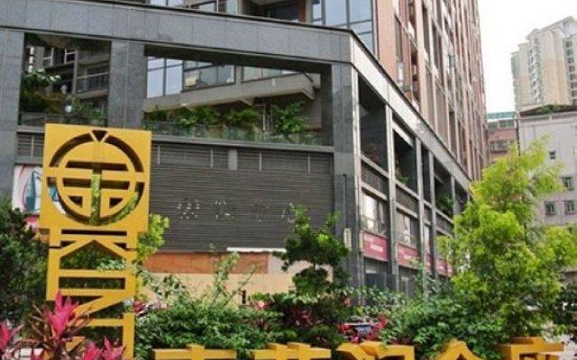 Апартаменты Ruige Business Apartment (Shenzhen Xinzhou Road Kingzone) вид на фасад