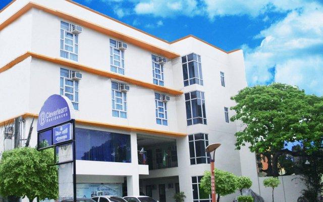 Отель Cleverlearn Residences Филиппины, Лапу-Лапу - отзывы, цены и фото номеров - забронировать отель Cleverlearn Residences онлайн вид на фасад