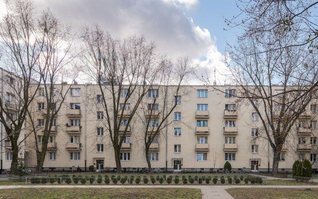 Отель P&O Apartments Plac Wilsona 2 Польша, Варшава - отзывы, цены и фото номеров - забронировать отель P&O Apartments Plac Wilsona 2 онлайн вид на фасад