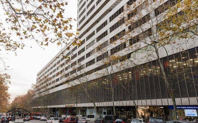 Отель Charming Eurobuilding 2 Exclusive вид на фасад
