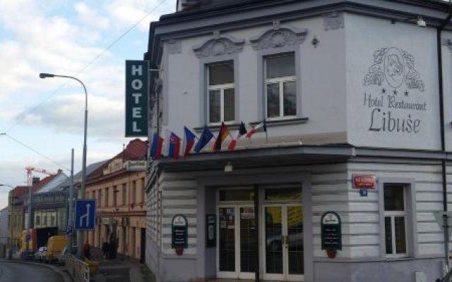 Hotel Libuse вид на фасад