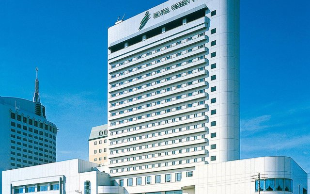 Hotel Green Tower Makuhari Тиба вид на фасад