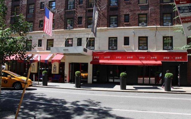 Отель Pod 51 США, Нью-Йорк - 9 отзывов об отеле, цены и фото номеров - забронировать отель Pod 51 онлайн вид на фасад