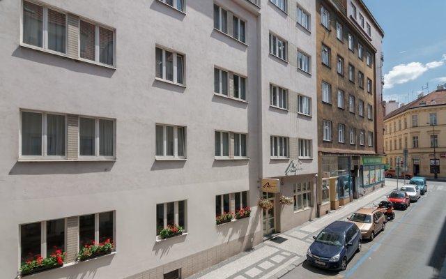 Hotel Andante вид на фасад