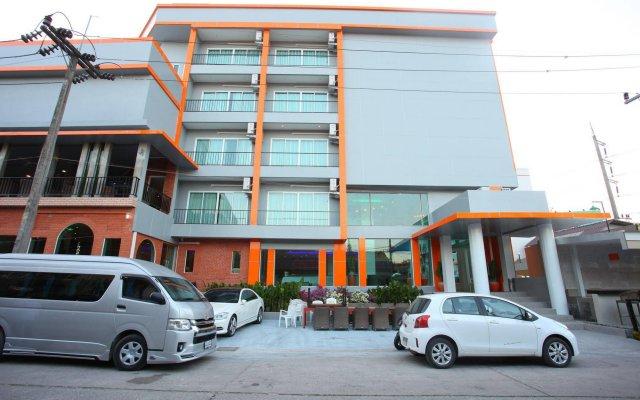 Отель Chabana Kamala Hotel Таиланд, Пхукет - 1 отзыв об отеле, цены и фото номеров - забронировать отель Chabana Kamala Hotel онлайн вид на фасад