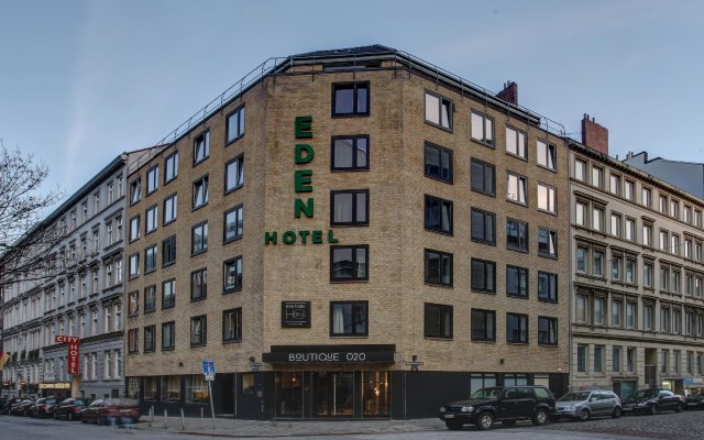Отель Boutique 020 Hamburg City Германия, Гамбург - отзывы, цены и фото номеров - забронировать отель Boutique 020 Hamburg City онлайн вид на фасад