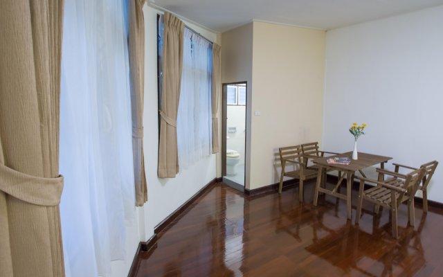 Отель The Bangkokians City Garden Home Бангкок комната для гостей