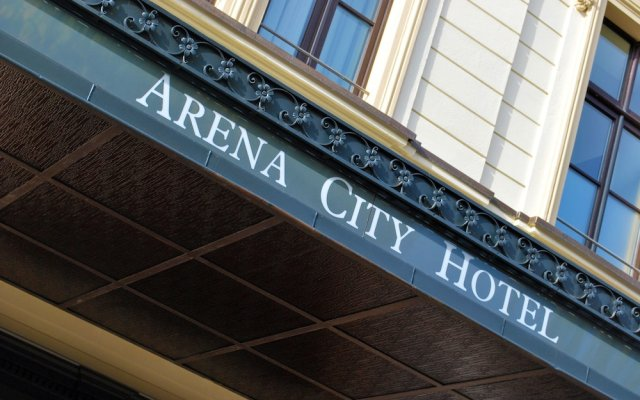Hotel Arena City вид на фасад
