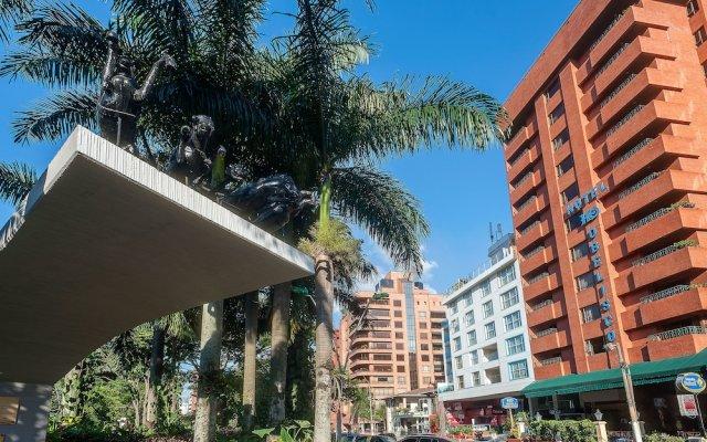 Отель Obelisco Колумбия, Кали - отзывы, цены и фото номеров - забронировать отель Obelisco онлайн вид на фасад