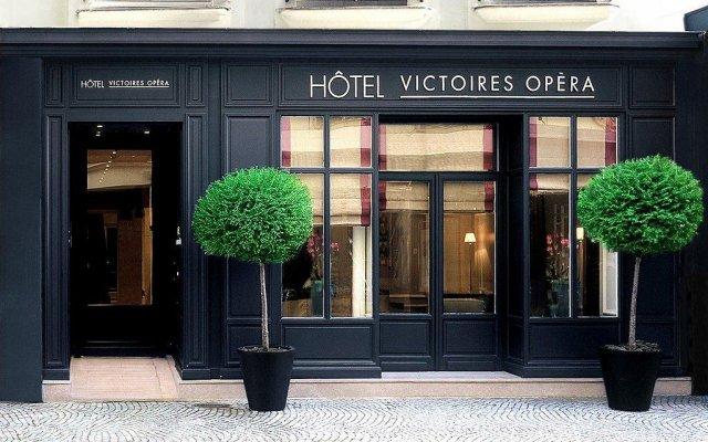 Hotel Victoires Opera вид на фасад