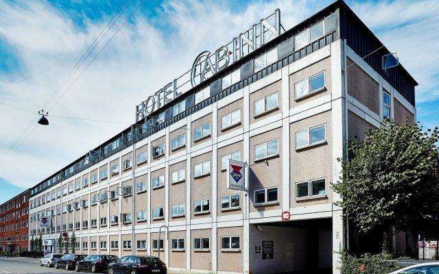 Отель Cabinn Scandinavia Дания, Фредериксберг - 8 отзывов об отеле, цены и фото номеров - забронировать отель Cabinn Scandinavia онлайн вид на фасад
