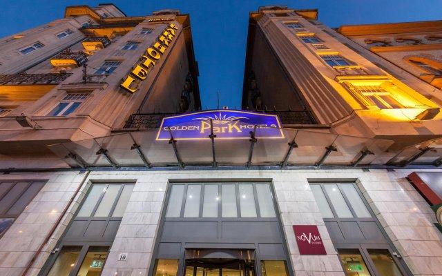 Novum Hotel Golden Park Budapest вид на фасад