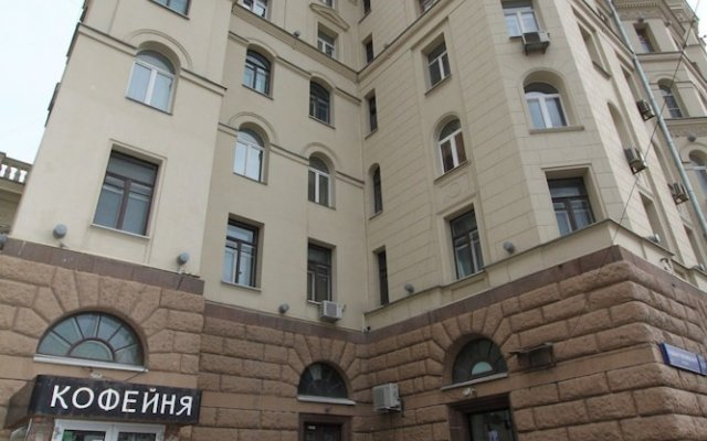 Апартаменты TVST Apartments Sadovo-Triumfalnaya 4 вид на фасад