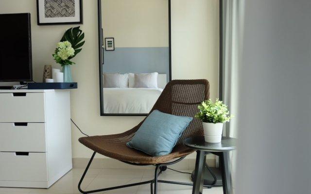 Апартаменты Spotlight - Ease by Emaar - Studio комната для гостей