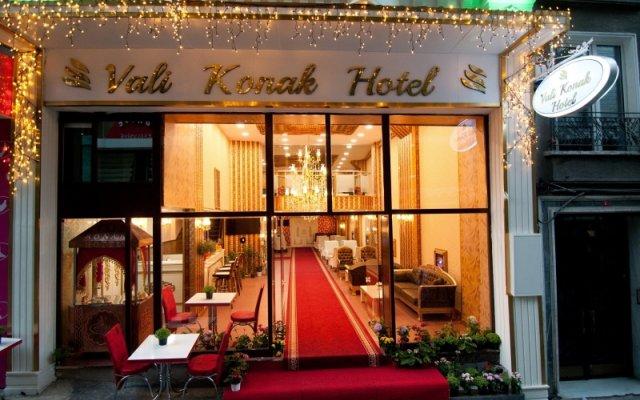 Vali Konak Hotel вид на фасад