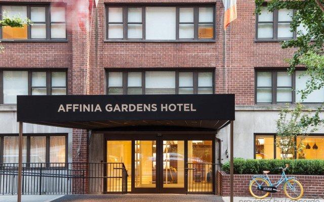 Отель Gardens Suites Hotel by Affinia США, Нью-Йорк - отзывы, цены и фото номеров - забронировать отель Gardens Suites Hotel by Affinia онлайн вид на фасад