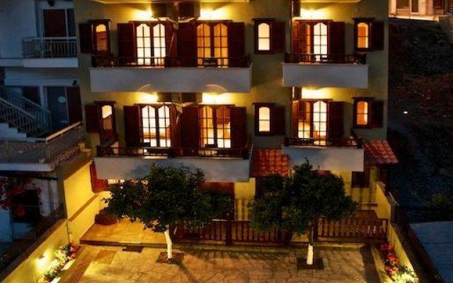 Отель Anastasiadis House Ситония вид на фасад