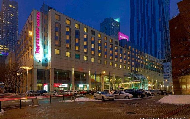 Отель Mercure Warszawa Centrum вид на фасад