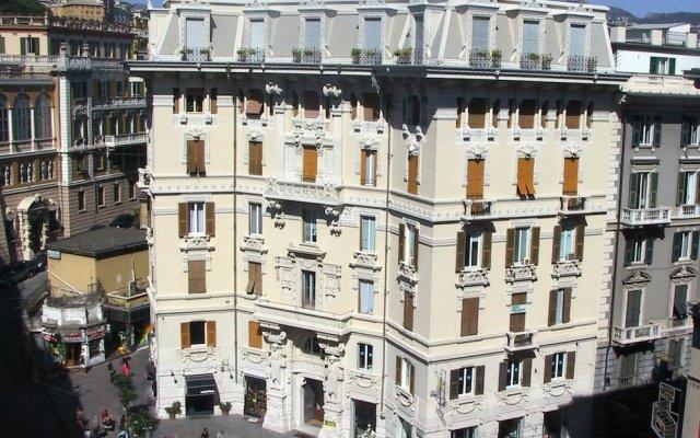 Отель Soana City Rooms Генуя вид на фасад