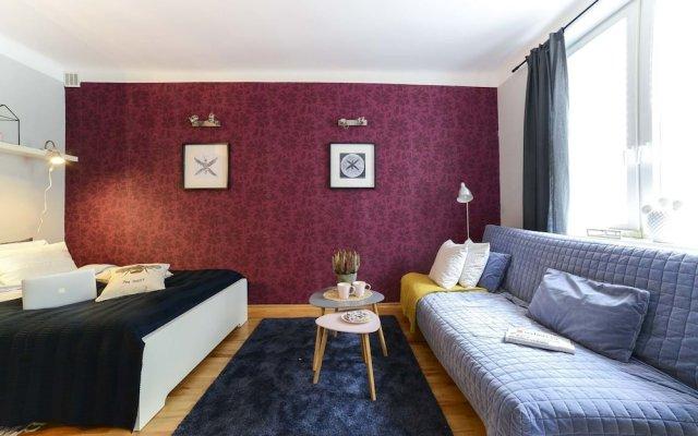 Апартаменты Downtown Colour Studio комната для гостей