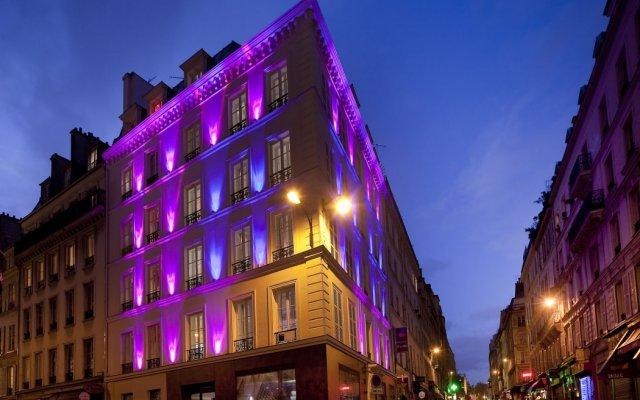 Отель Design Secret De Paris Париж вид на фасад