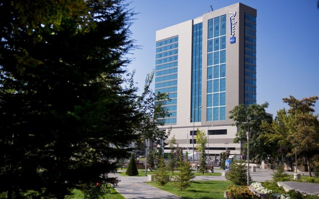 Radisson Blu Hotel, Kayseri вид на фасад