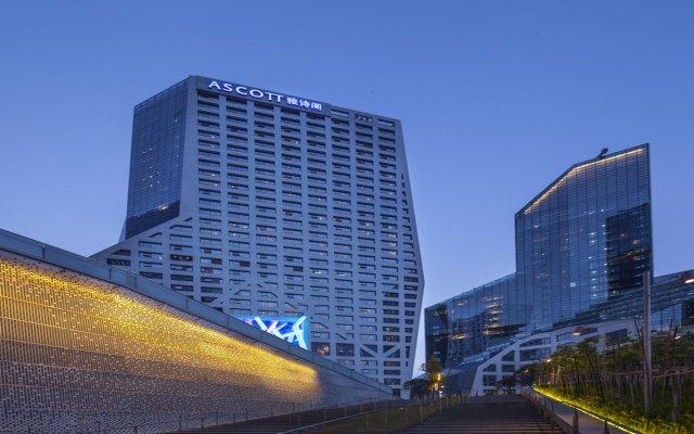 Отель Ascott Raffles City Chengdu вид на фасад