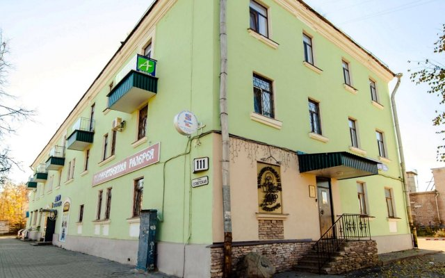 Гостиница Аватар вид на фасад