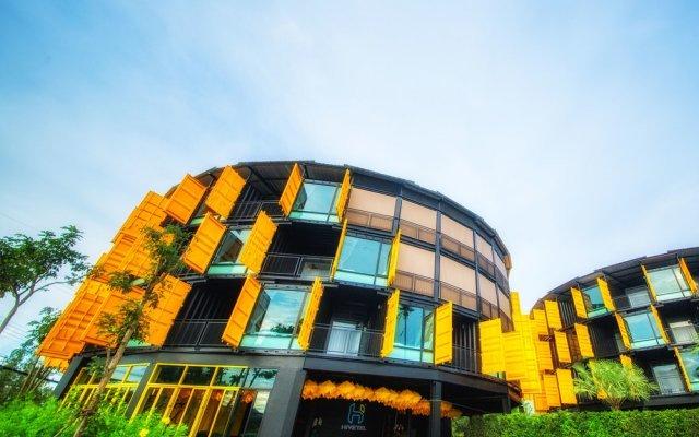 Отель Hivetel Таиланд, Бухта Чалонг - отзывы, цены и фото номеров - забронировать отель Hivetel онлайн вид на фасад