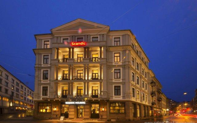 Отель Scandic Holberg Норвегия, Осло - отзывы, цены и фото номеров - забронировать отель Scandic Holberg онлайн вид на фасад