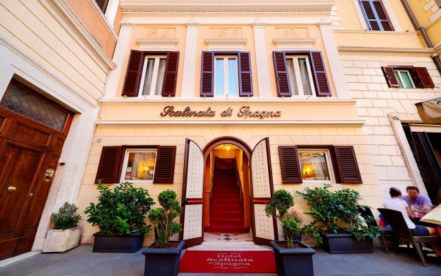 Отель Scalinata Di Spagna Италия, Рим - отзывы, цены и фото номеров - забронировать отель Scalinata Di Spagna онлайн вид на фасад