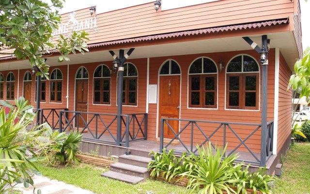 Отель Cowboy Farm Resort Pattaya вид на фасад