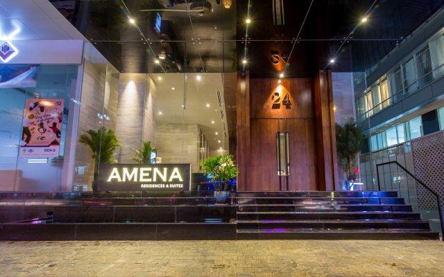 Отель Amena Residences & Suites вид на фасад