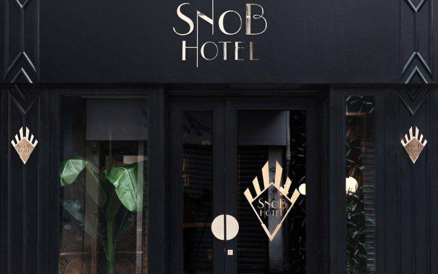 Отель Snob Hotel by Elegancia Франция, Париж - 2 отзыва об отеле, цены и фото номеров - забронировать отель Snob Hotel by Elegancia онлайн вид на фасад