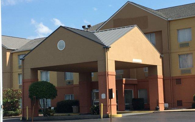 Отель Ramada by Wyndham Vicksburg вид на фасад