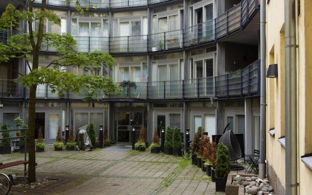 Апартаменты 2Ndhomes Kluuvi Apartments 2 Хельсинки вид на фасад