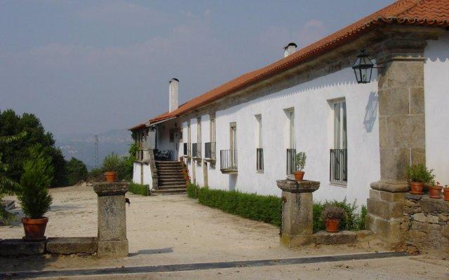 Отель Casa de Vilarinho de S. Romao вид на фасад