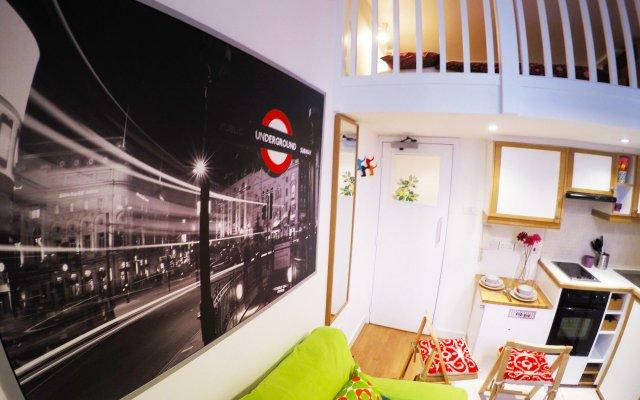 Отель The Short Let West Kensington комната для гостей