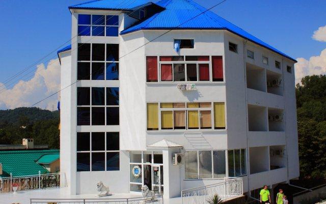 Отель Бегущая по Волнам Сочи вид на фасад