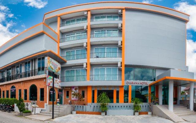 Chabana Kamala Hotel вид на фасад