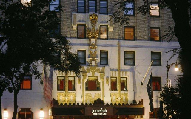Отель JW Marriott Essex House New York США, Нью-Йорк - 8 отзывов об отеле, цены и фото номеров - забронировать отель JW Marriott Essex House New York онлайн вид на фасад