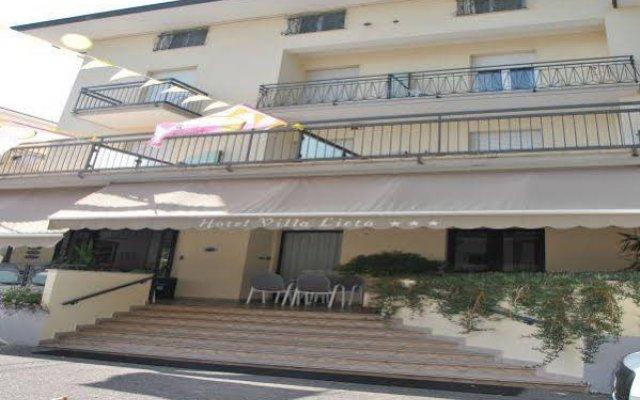 Отель Villa Lieta Римини вид на фасад